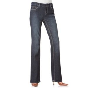 Tommy Hilfiger Hope mid-rise bootcut jeans